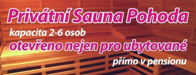 privátní sauna
